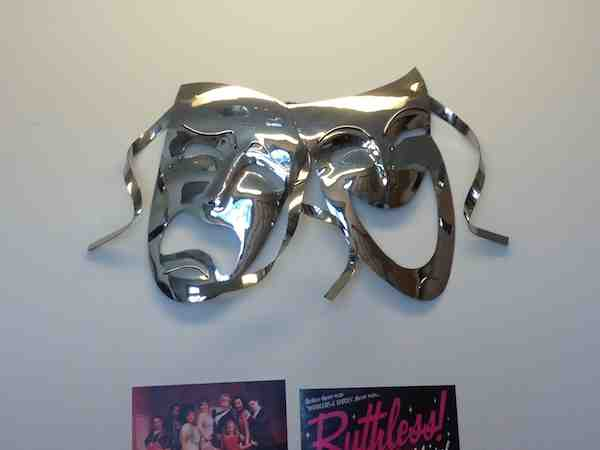 Wall Hanging - Comedy-Tragedy Theater Masks1