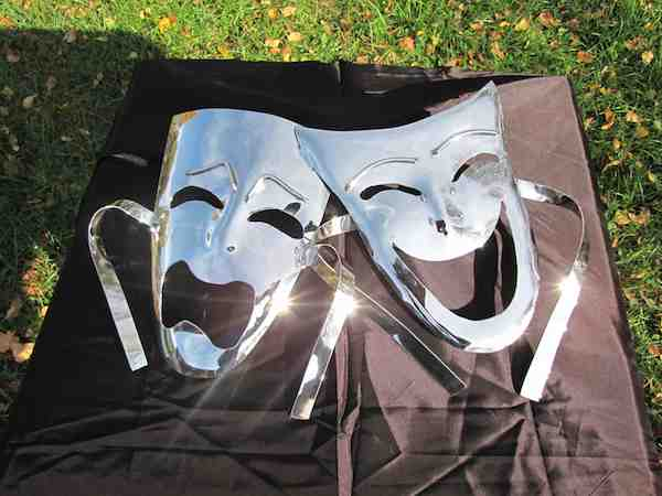 Wall Hanging - Comedy-Tragedy Theater Masks2
