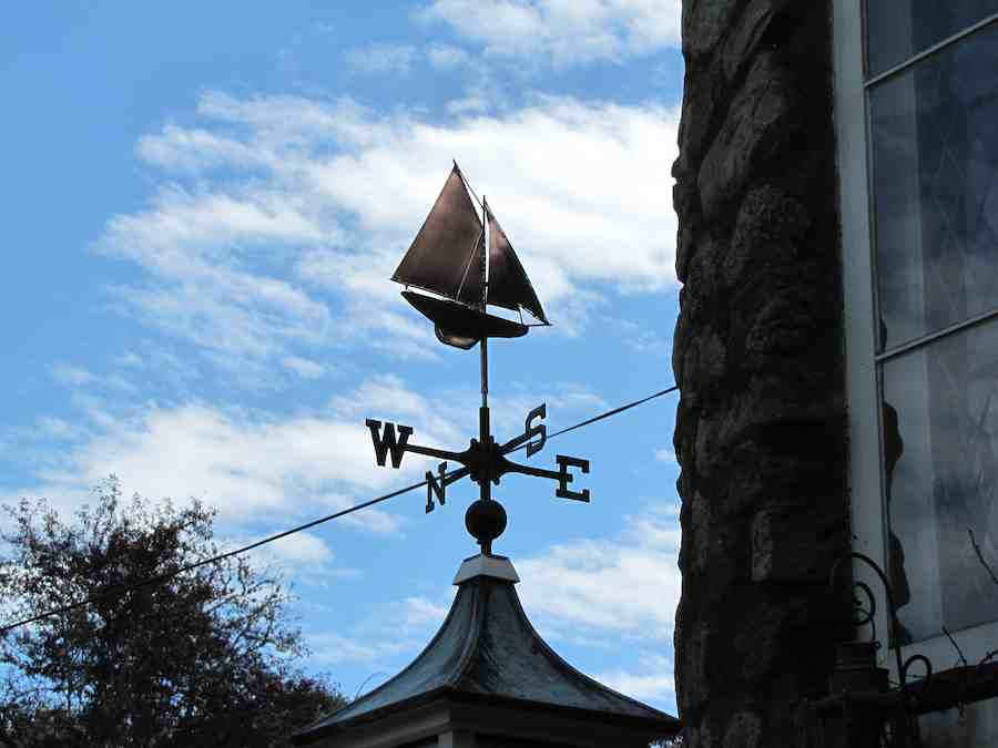 Weathervane - Bar Harbor Sailboat