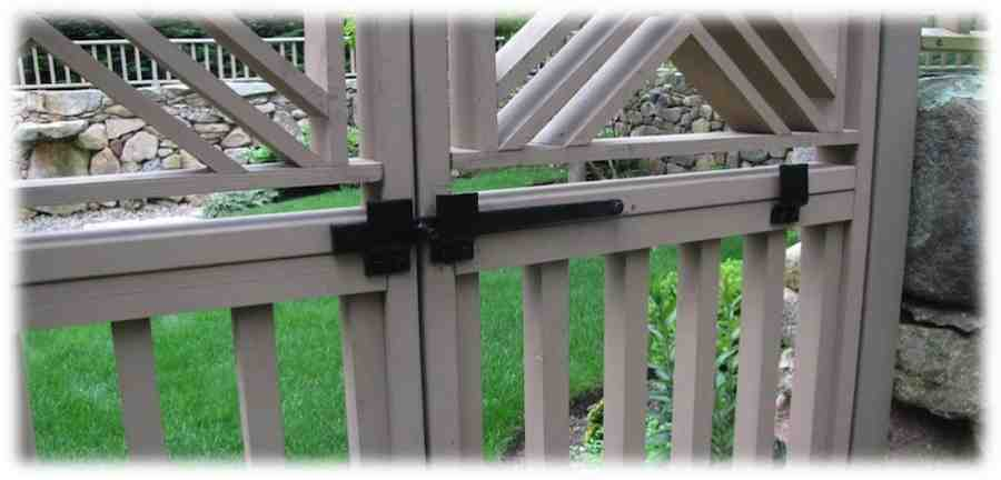 Garden gate Latch (Compressed)