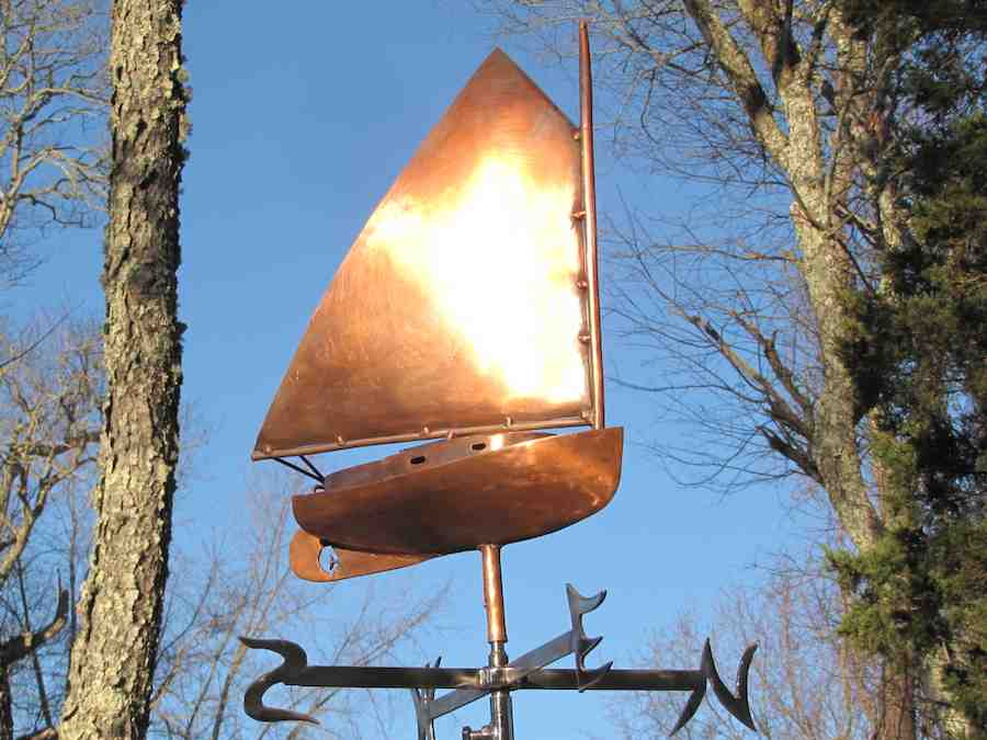 Weathervane - Cat Boat4